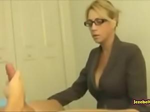 Granny handjob cumshot porn