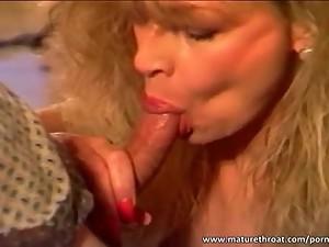 Big boobed mature slut gets fucked in..