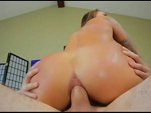stepson penetrates big boobs stepmom ass..