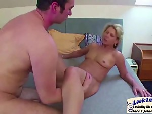 Mother Seduce Step-son to Fuck Her with..