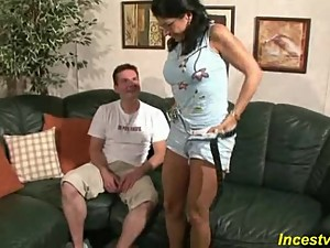 German Son fucks his beauty mommy