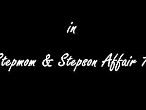 Stepmom and stepson have a hot affair
