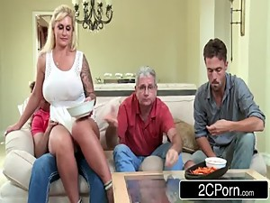 Busty MILF Ryan Conner Cheats With Her..