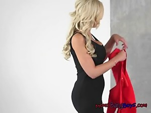 Hot MILF Nina Catches Her Son In Law..