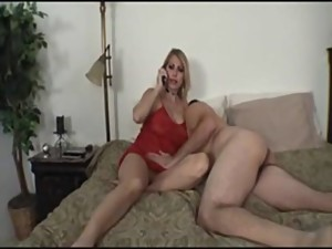 Step mom gets fucked by her step son..