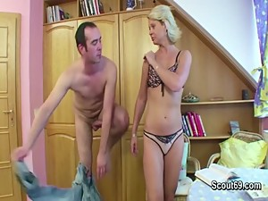 Mom get fucked by german friend of her..