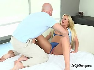 Sexy Mom Teases Her Sons Gym Teacher