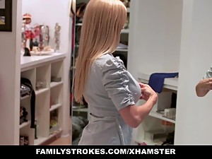 familyStrokes - Step Mom fucks stepson..