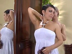 Hot Mom Catches And Seduces Not Her Son