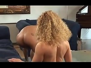 Very sexy british milf fucks son's friend