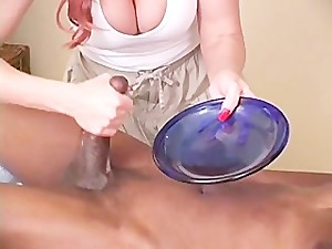 Janet Mason gives a naught massage..