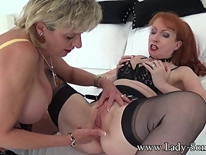 Lady Sonia first time ever Full Lesbian..