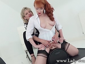 MILFs Lady Sonia and Red XXX in hot..