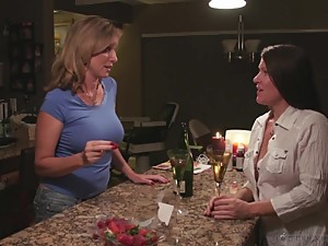 Mom lets Aunt fuck stepson
