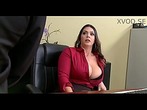 Alison Tyler Has A Little Office Fun..