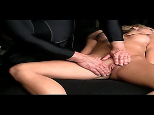 Massage Therapy Sexy Blonde Bitches..